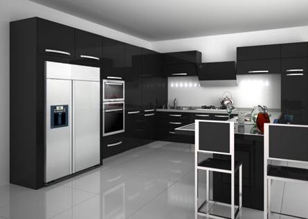 小户型厨房里橱柜设计类型