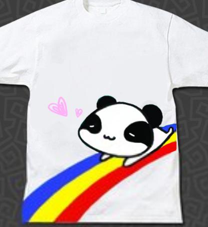 韩版卡通可爱手绘图案,彩色旋转木马手绘t恤等等都是比较流行的时尚