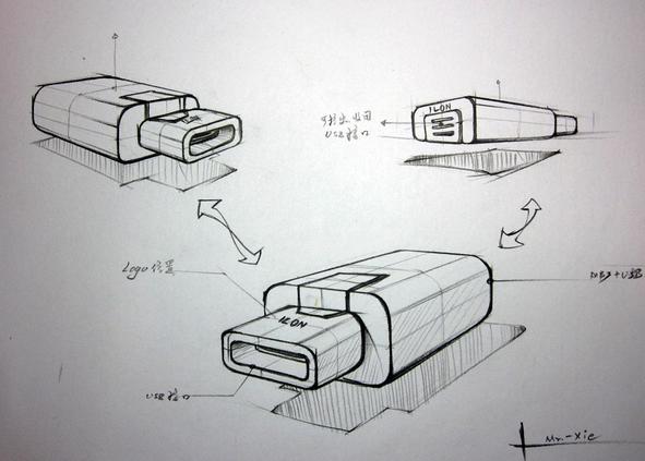 产品创意设计素描