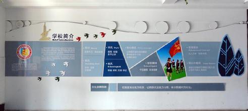 校园文化长廊文化墙设计方案介绍