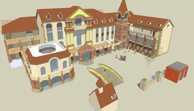 建筑模型设计之英伦风格建筑特征