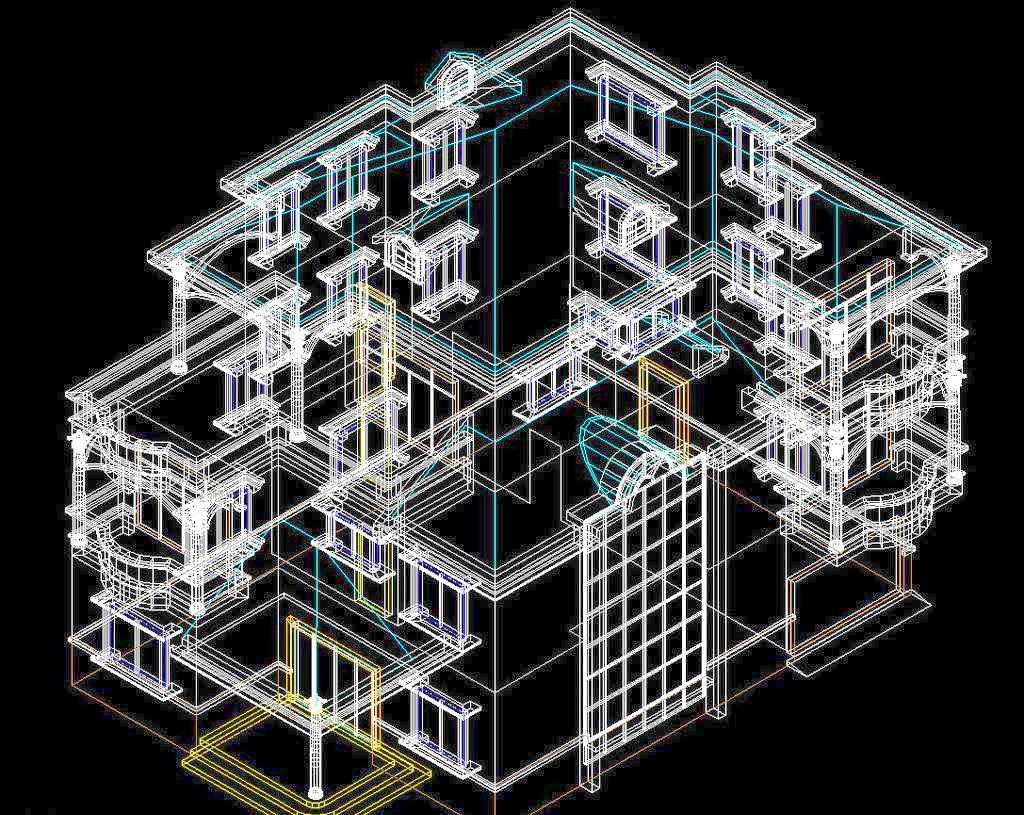 如何从cad模型空间转出图纸?