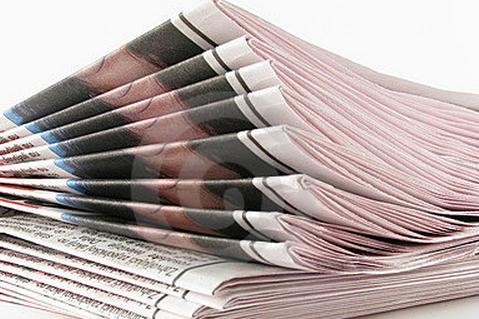 报纸设计最为常见的版面术语